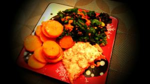 Seaweed + Kale Salad