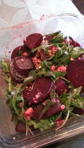 Beets and Arugula