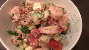 Shrimp Taboueleh