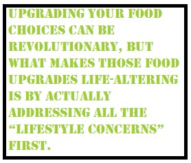 uprading your food