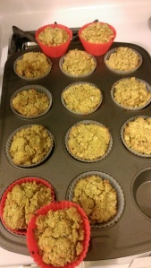 apple thyme muffins