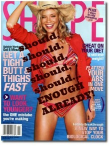 Shape Magazine…SHOULDS
